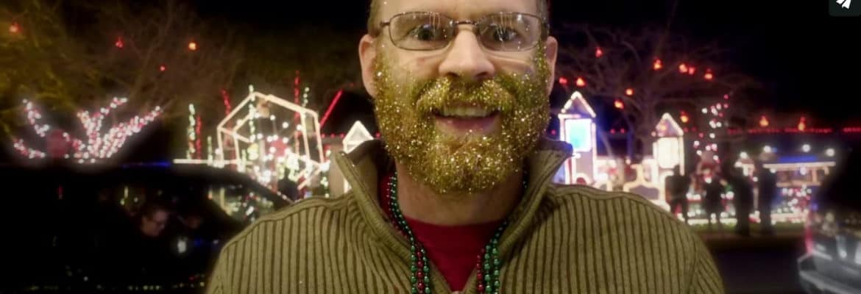 Derrick Perrin Glitter Beard