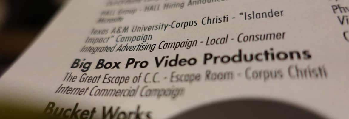 Big Box Pro - ADDY Award Photo